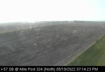 I-57 SB at Mile Post 324 - N - USA