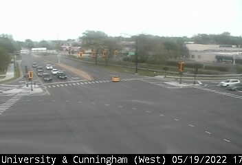 US 150 (University) at Cunningham - W - USA