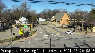 US 150 (Prospect) at Springfield - W - USA