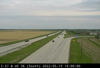 I-57 at US 36 - S - USA