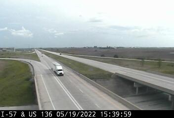 I-57 at US 136 - S - USA