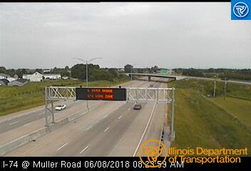 I-74 at Muller Road 1 - Chicago and Illinois