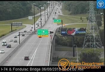 I-74 at Fondulac Bridge 1 - Chicago and Illinois
