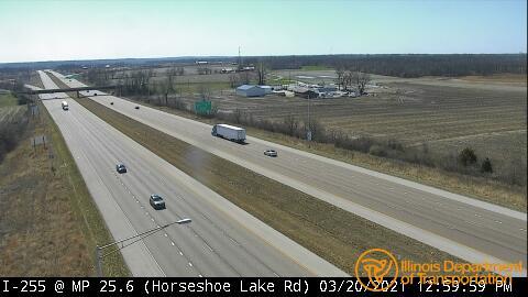 I-255 @ Milepost 25.6 (Horseshoe Lake Rd) 1 - USA