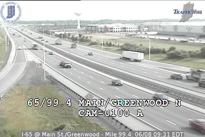 I-65 @ Main St./Greenwood - Mile 99.4 (3204) (north, south) - USA
