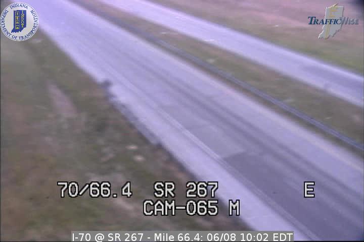 I-70 @ SR 267 - Mile 66.4 (2842) (east, west) - Indiana