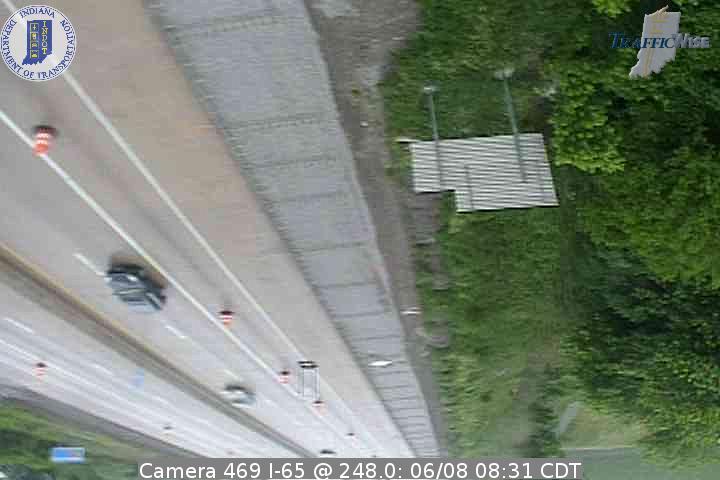 Camera 469 I-65 @ 248.0 (142478) (north, south) - Indiana