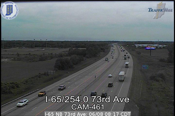 I-65 NB 73rd Ave (142484) (north) - Indiana