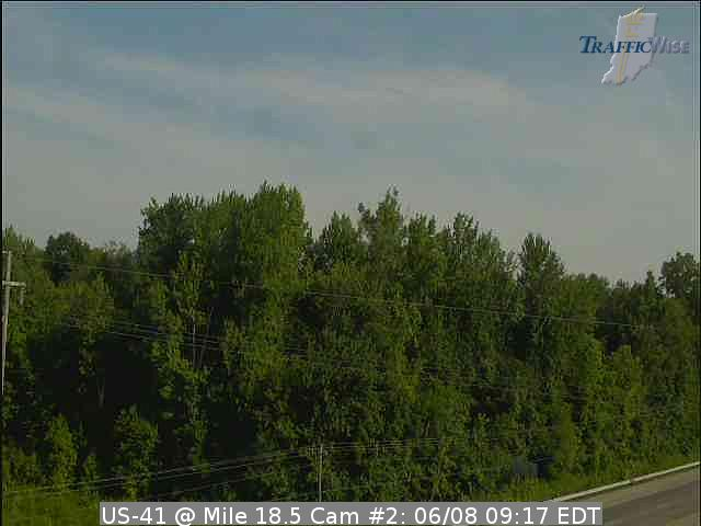 US-41 @ Mile 18.5 Cam #2 (142499) (north, south) - Indiana