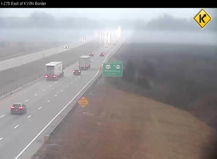 I-275 East of KY/IN Border (East)  (377)  - Kentucky