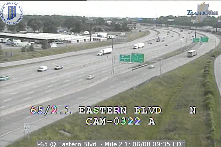 I-65 at Eastern Ave  Ind  Exit 2 Indiana - District 5 (52
