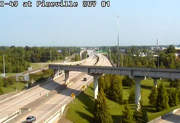 I-49 at Pineville XWY #1 - USA
