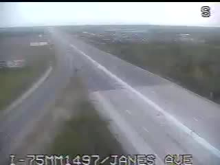 I-75 @ Janes Rd-Traffic closest to camera is traveling North (2029) - USA