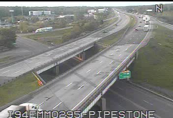I-94 @ Pipestone Rd-Traffic closest to camera is traveling East (2079) - USA