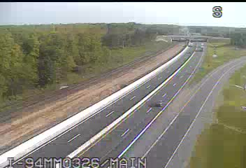 I-94 @ Main-Traffic closest to camera is traveling West (2080) - USA
