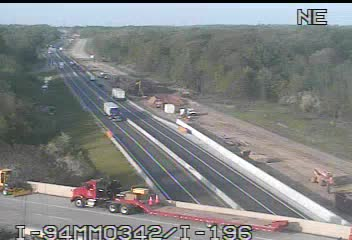 I-94 @ I196-Traffic closest to camera is traveling West (2327) - USA