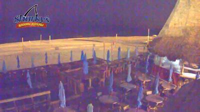 Panama City Beach, Sharky's Beachfront Restaurant - Florida