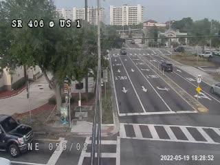 SR-406 at US-1 - Eastbound - 671 - Florida
