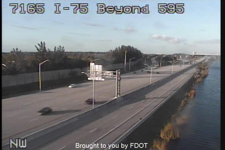 I-95 at Stirling Rd - Northbound - 500 - Florida