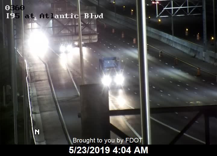 I-95 at Atlantic Blvd - Southbound - 517 - Florida