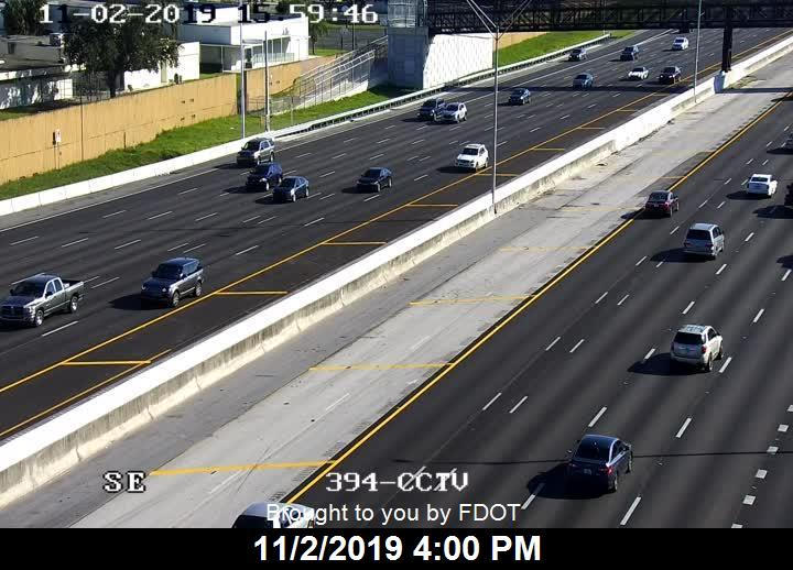 I-95 N of Sample Rd - Southbound - 522 - Florida