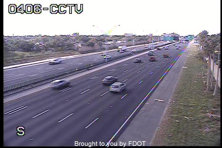 I-95 S of SW 10th St - Northbound - 523 - Florida