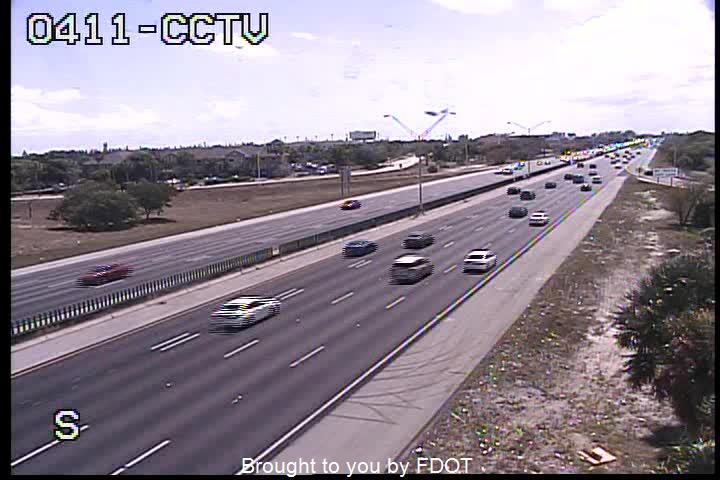 I-95 at SW 10th St - Northbound - 525 - Florida