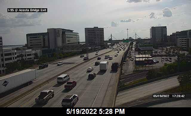 I-95 at Acosta Bridge Exit - Northbound - 273 - Florida