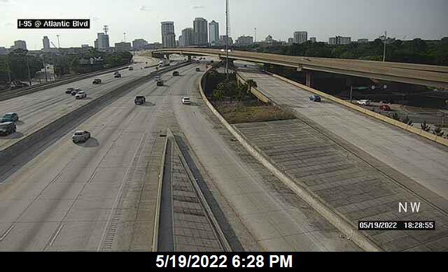 I-95 at Atlantic Blvd - Northbound - 274 - Florida
