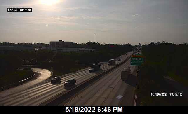 I-95 at Emerson St - Northbound - 276 - Florida