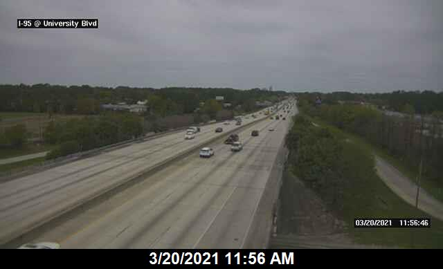 I-95 at University Blvd - Northbound - 278 - Florida