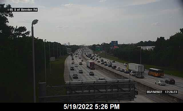 I-95 S of Bowden Rd - Southbound - 279 - Florida