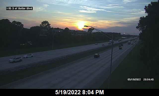 I-95 S of Butler Blvd - Northbound - 281 - Florida