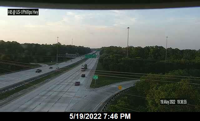I-95 at US-1 / Philips Hwy - Northbound - 286 - Florida