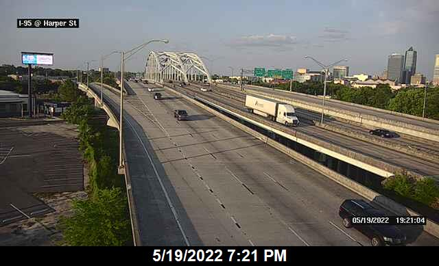 I-95 at Harper St - Southbound - 288 - Florida
