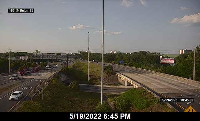 I-95 at Union St - Northbound - 290 - Florida