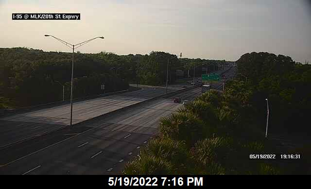 I-95 at MLK / 20th St - Southbound - 292 - Florida