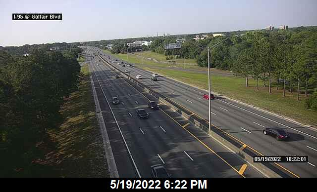I-95 at Golfair Blvd - Southbound - 293 - Florida
