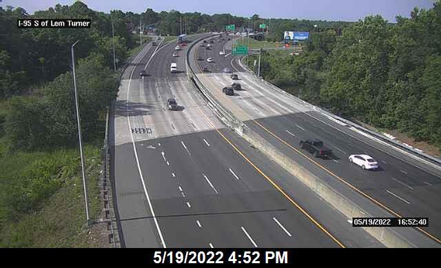I-95 S of Lem Turner Rd - Southbound - 295 - Florida