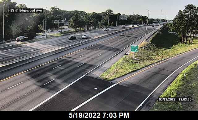 I-95 at Edgewood Ave - Northbound - 297 - Florida