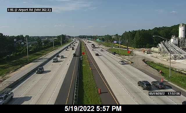 I-95 S of Airport Rd - Southbound - 305 - Florida