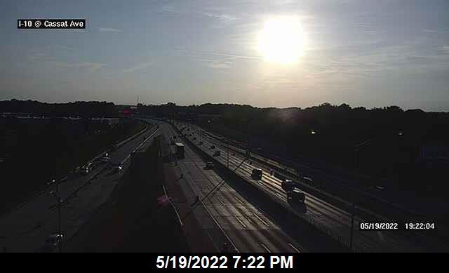 I-10 at Cassat Ave - Eastbound - 326 - Florida