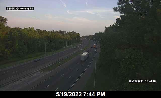 I-295 W at Herlong Rd - Southbound - 332 - Florida