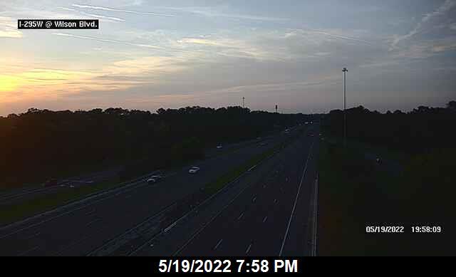 I-295 W at Wilson Blvd - Southbound - 333 - Florida