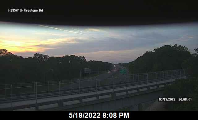 I-295 W at Firestone Rd - Southbound - 334 - Florida