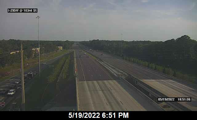 I-295 W at 103rd St - Southbound - 335 - Florida