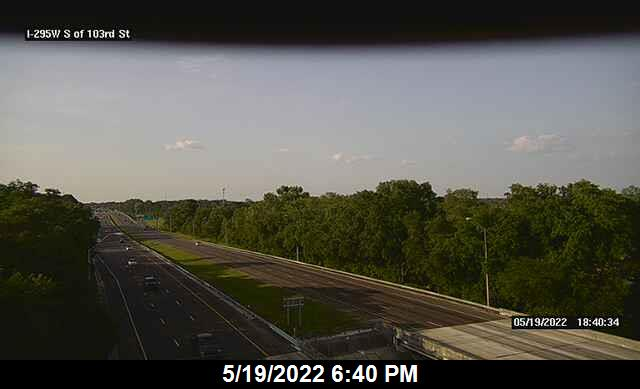 I-295 W S of 103rd St - Southbound - 336 - Florida