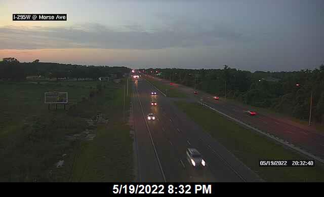 I-295 W at Morse Rd - Southbound - 337 - Florida