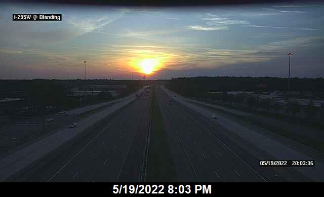 I-295 W at Blanding Blvd - Southbound - 340 - Florida