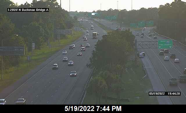I-295 W at N Buckman Bridge - Southbound - 344 - Florida